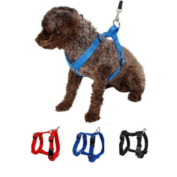 Pet Harness Nylon Adjustable Safety Control Restraint Cat Puppy Harness Soft Walk Vest Large Dog 3 Colors Creatures Harness