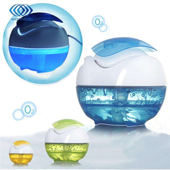 Home Portable Air Cleaner Ball Shape Air Cleanser Oxygen Bar DC5V 1W USB Brought Night Light Air Cleaner