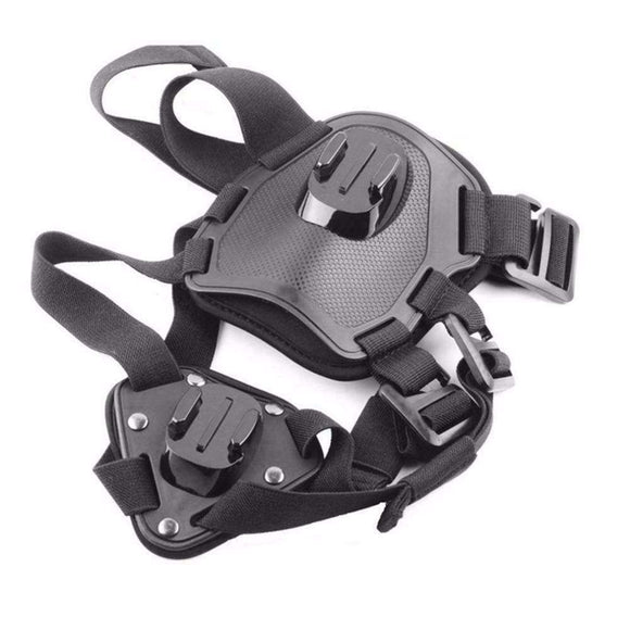 Dog Harness Chest Strap Shoulder Belt Mount Action Camera Universal Adjustable Sport Accessories For GoPro Hero 5 4 3 SJ4000