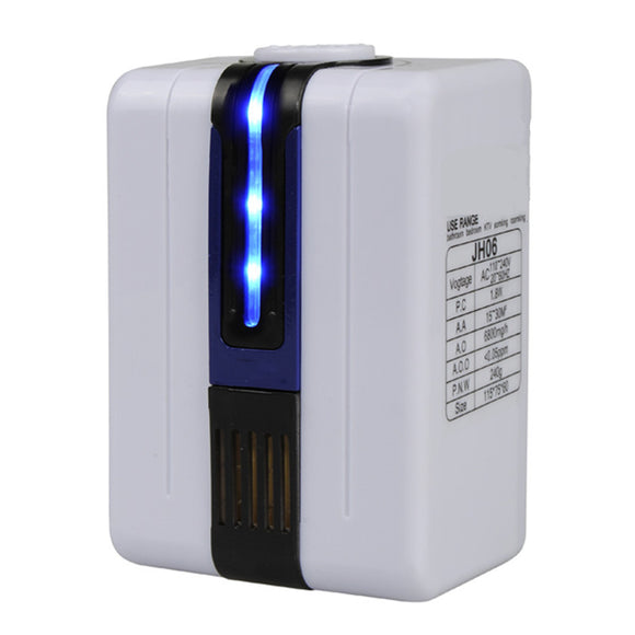 Ionizer Air Purifier For Home Negative Ion Generator 9 Million AC110-240V Remove Formaldehyde Smoke Dust Purification