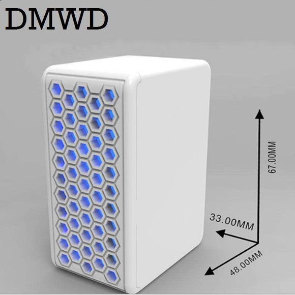 DMWD Air Cleaner Negative iron Generator Ionizer Sterilizer Portable USB small oxygen bar Remove Chemicals Smoke smell pm2.5