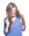 Wavy Human Hair Fall Extension by Georgie Wigs
