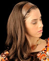 "20"" 3/4 Headband Fall - European Human Hairpiece by Georgie Wigs"