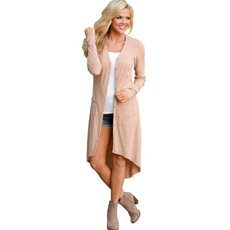 Knitted Long Cardigan - Raen Wear