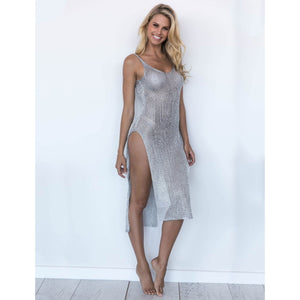 Sexy Long Backless Beach Cover Up - Raen Wear