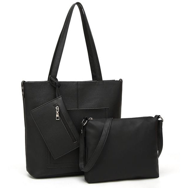 Leather Tote Comes with Handbag - Raen Wear