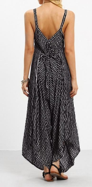 Playful Sexy Striped Jumpsuit - Raen Wear