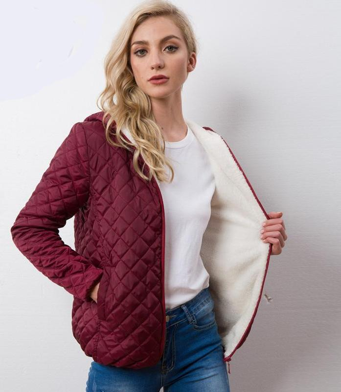 Light Weight Quilted Hooded Jacket - Raen Wear