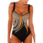 Women's One Piece Vintage Push Up Bathing Suit - Raen Wear