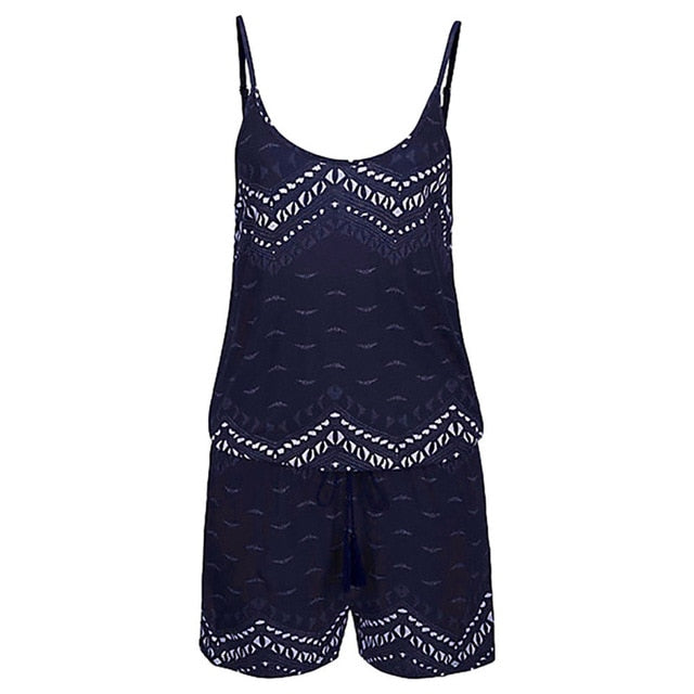 Women's Sexy Sleeveless Jumpsuit - Raen Wear