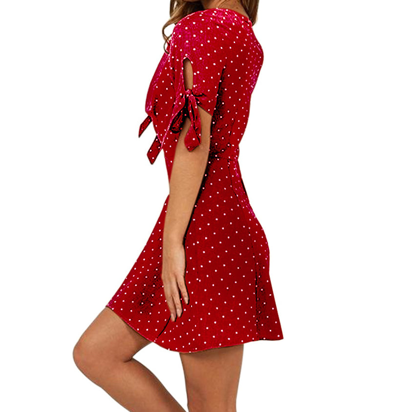 Women's Pretty Polka Dot Mini - Raen Wear