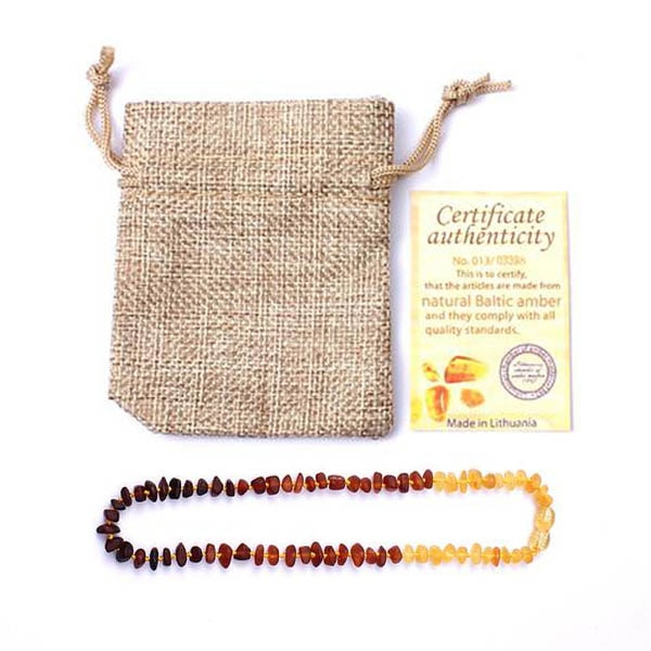 Bracelet Adulte Ambre Naturel Avec certificat Authenticité - 5 couleurs disponibles Karmadabra