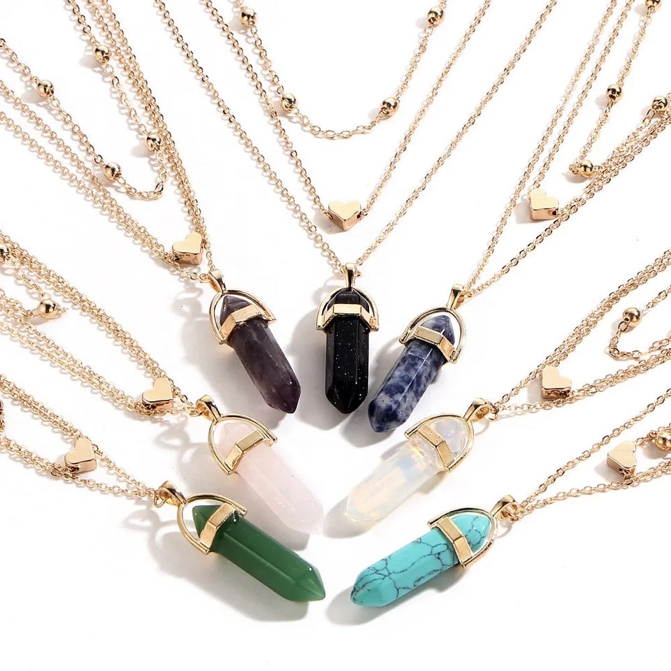 CRYSTAL COMBO NECKLACE