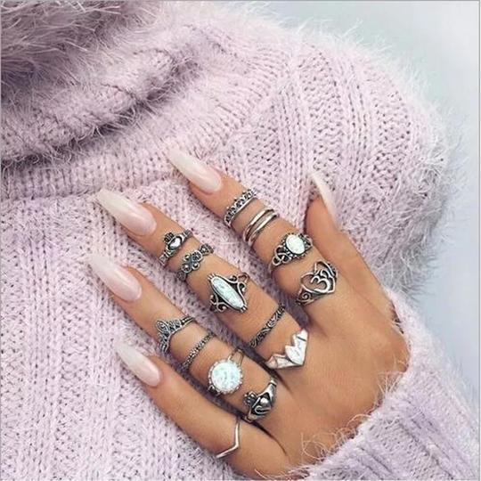 TURTLE DOVE RING COMBO SET