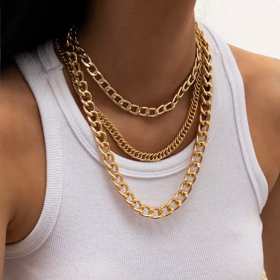CHUNKY CUBAN CHAINS
