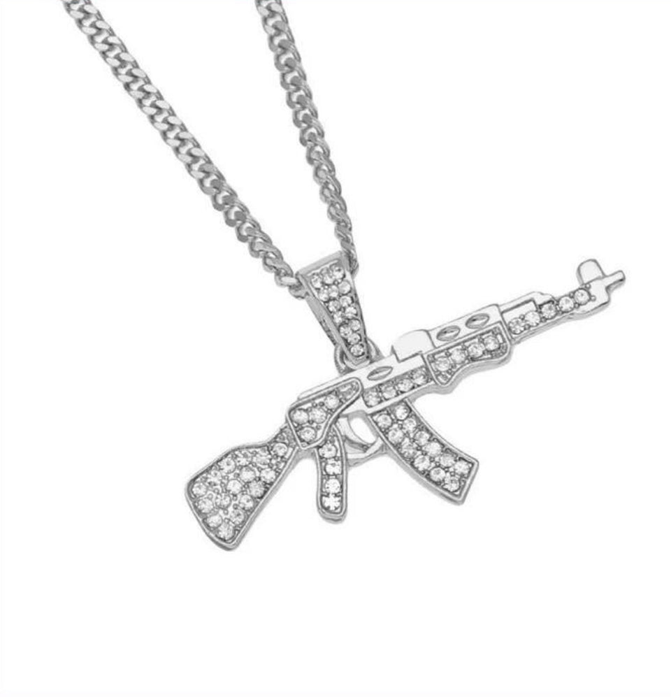 ICE AK47 NECKLACE