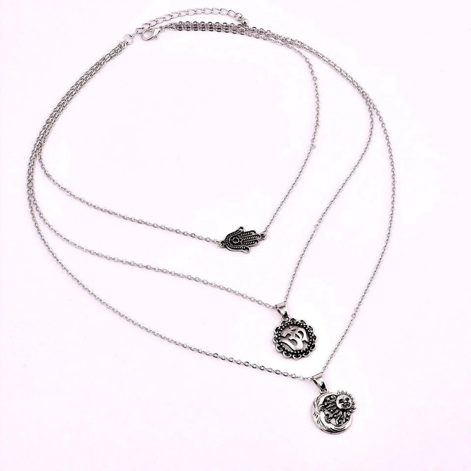 PEACE COMBO NECKLACE