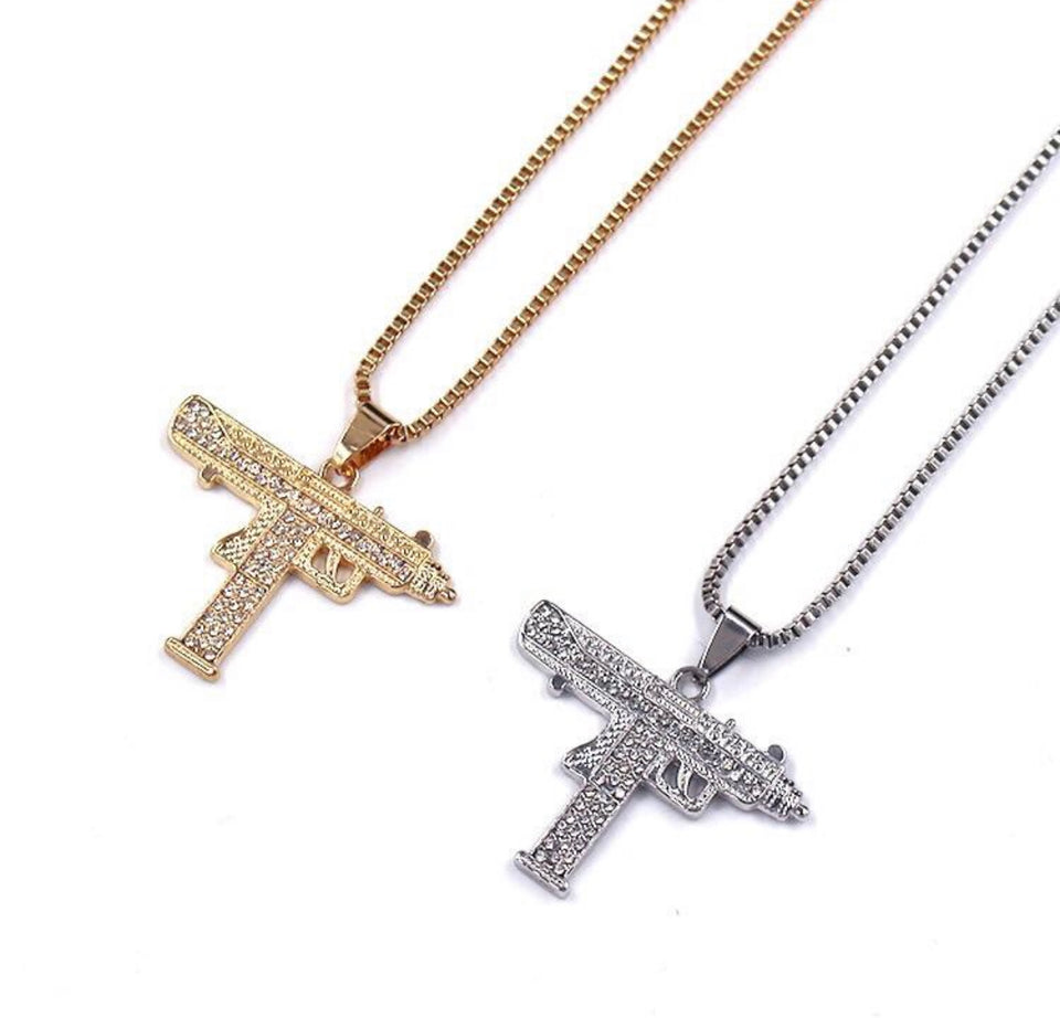 ICE UZI NECKLACE
