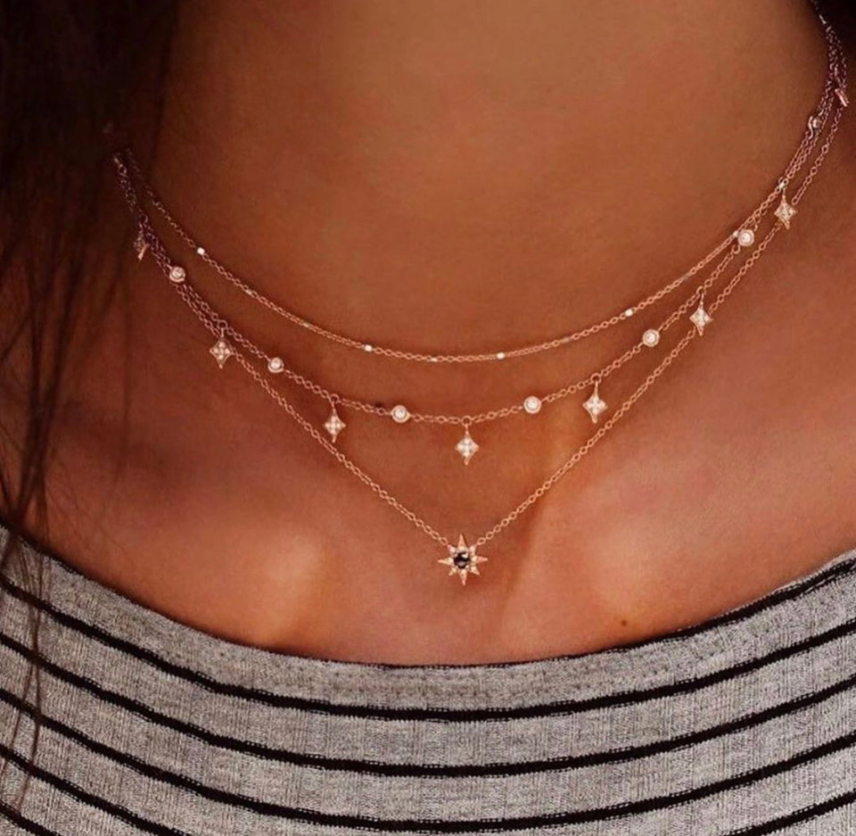 STAR COMBO NECKLACE