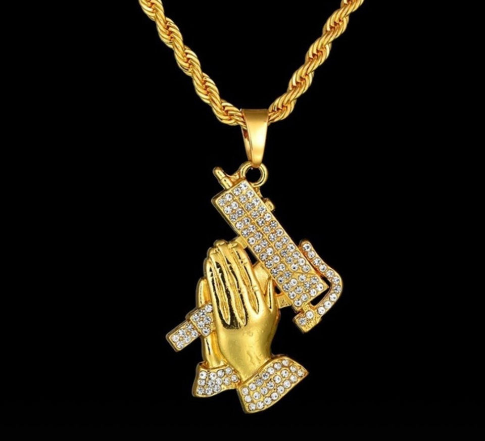 6 GOD GUN NECKLACE