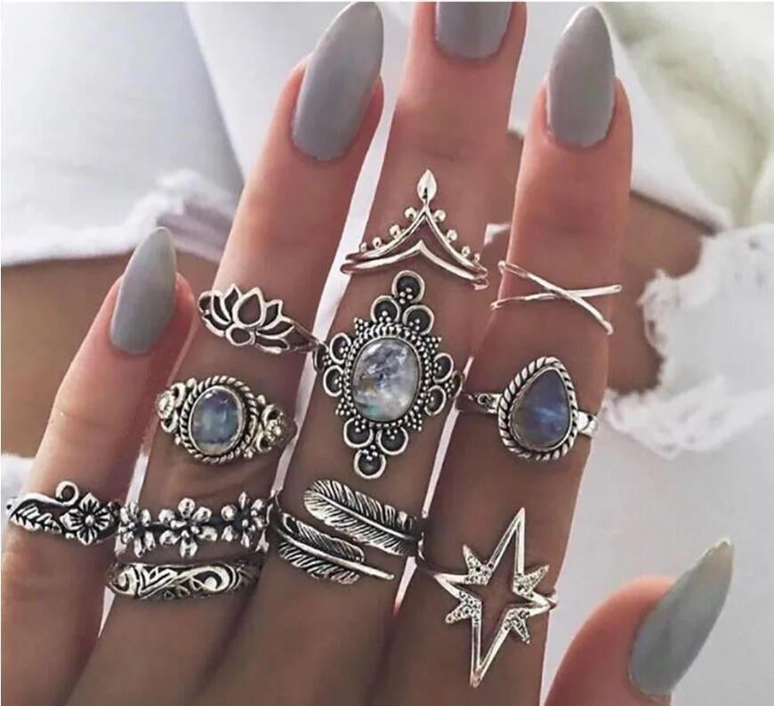 STAR RING COMBO SET