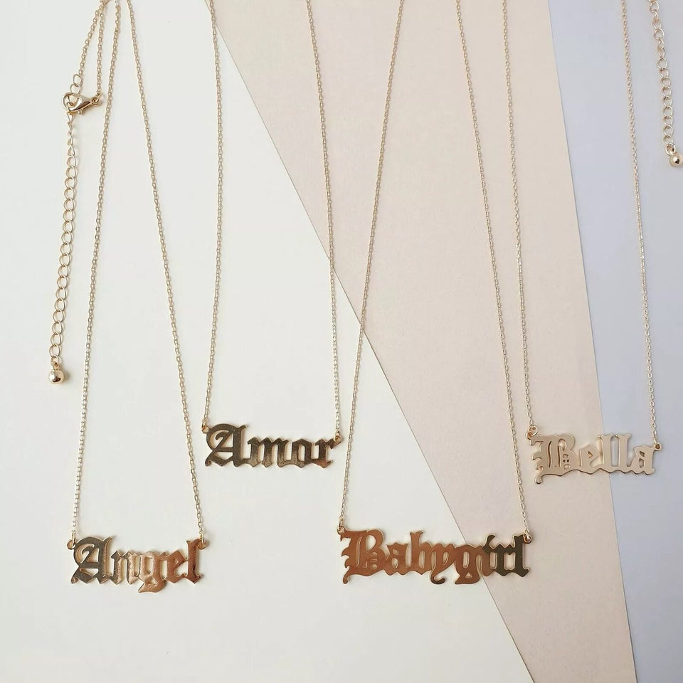 BABYGIRL STAINLESS STEEL NECKLACE