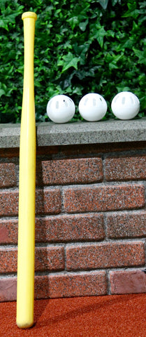 Wiffle® Bat and 3 Wiffle® Balls (Baseball Size)