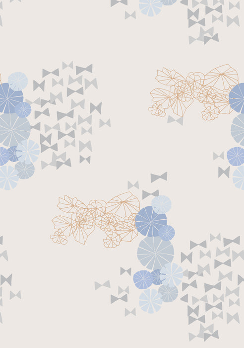 Metolius Bowties Wallpaper Pattern