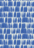 Metolius Cobalt Drip Drop Wallpaper Pattern