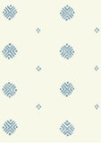Metolius Pale Azurite Blue Dobby Wallpaper Pattern