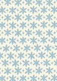 Metolius Pale Cerulean Paper Flower Wallpaper Pattern