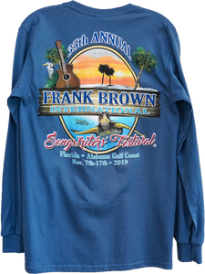 Frank Brown Songwriters' Fest Shirts