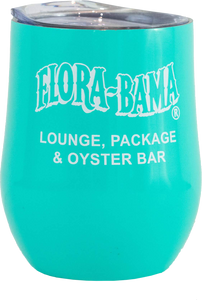 Flora-Bama Stainless Wine Tumblers