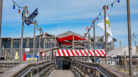 Flora-Bama Beach Entrance Background Picture