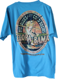 Flora Bama Hooked on Paradise In Comfort Colors