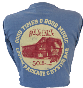 Flora-Bama 50th Literality Long Sleeve Tee