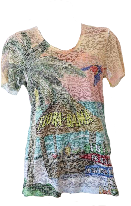 Flora-Bama Fusion Beach Bar Shirt