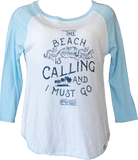Flora-Bama Beach is Calling Ladies Shirt