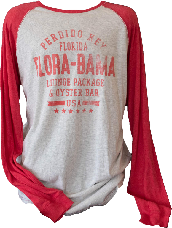 Flora-Bama Baseball Long Sleeve TriBlend