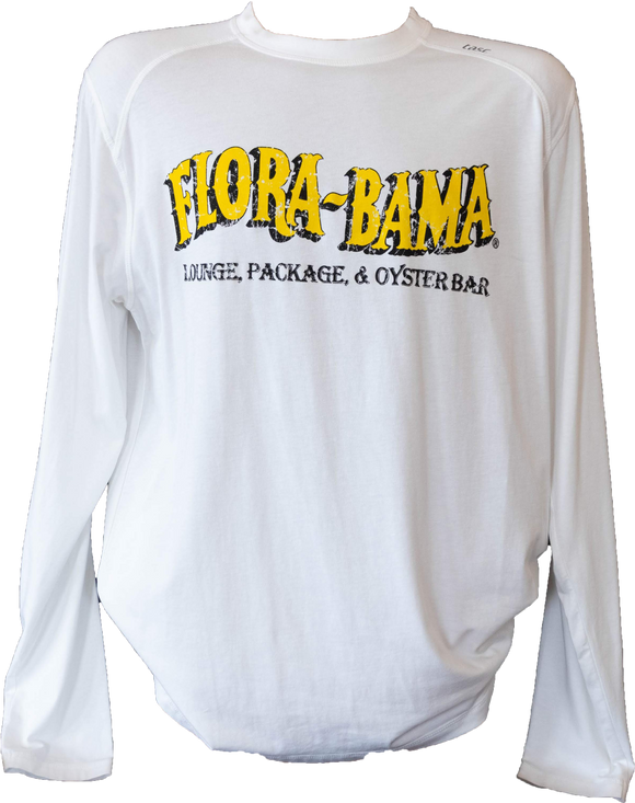 Flora-Bama TASC Long Sleeve with Classic Wavy Logo