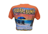 Flora-Bama Beach Chairs T-Shirt *Comfort Colors*