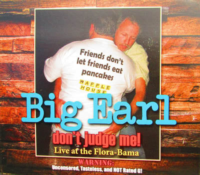 "Big Earl's ""Don't Judge Me"" CD"