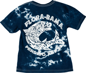 Flora-Bama Kids Splatter Tie Dye with Mullet