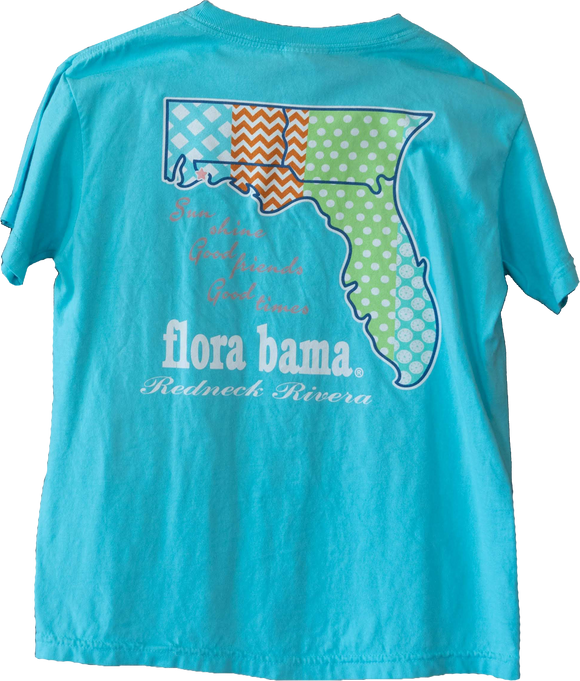 Flora-bama Kid's Southern Charm *Comfort Colors*