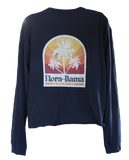 "Flora-Bama LS Ladies Cropped ""Miracle Midi"""