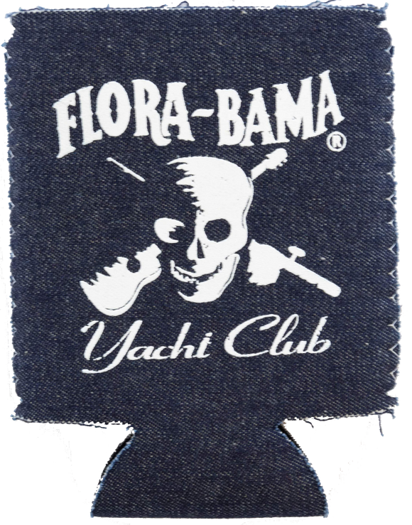 Flora-Bama Yacht Club Denim Koozie