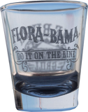Flora-Bama Clear Classic Shot Glasses