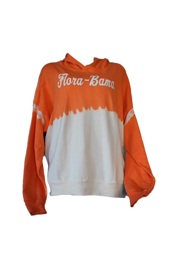 Flora-Bama Ombre Color to White Hoodies