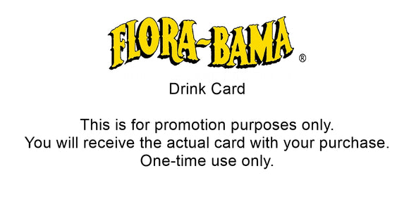 Three FREE Drink Cards