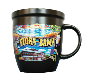 Flora-Bama Chalk Art Coffee Mug